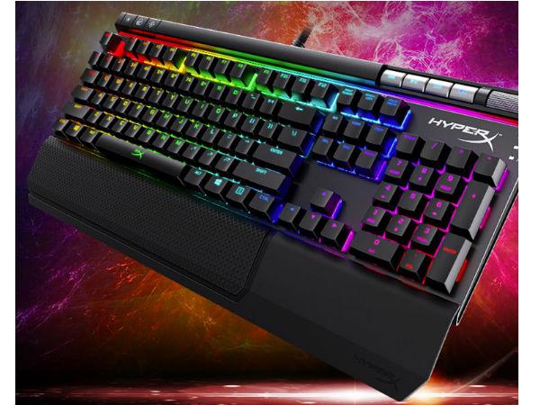 RGB信仰灯光 Hyperx电竞外设系列推荐