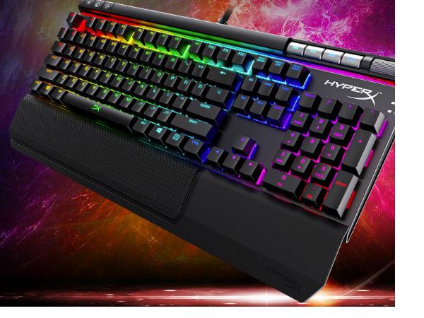 吃鸡利器 HyperX阿洛伊精英版机械键盘售价999元