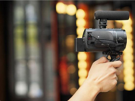 选索尼4K摄像机AX60 拍摄个性VLOG