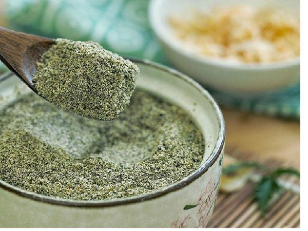 极客美食:天然调味剂―料理机版紫菜白芝麻虾皮粉