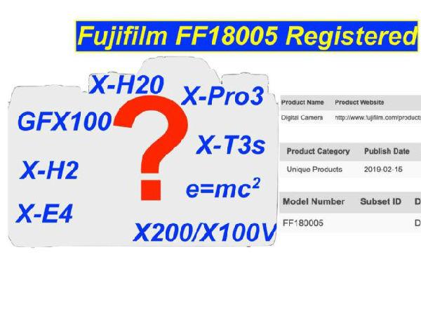 """富士新机注册代号曝光""""FF180005""""可能是GFX 100"""
