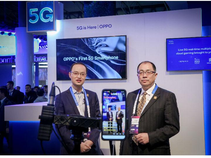 OPPO在MWC大会进行全球首次5G网络直播 携手产业链推动5G商用落地