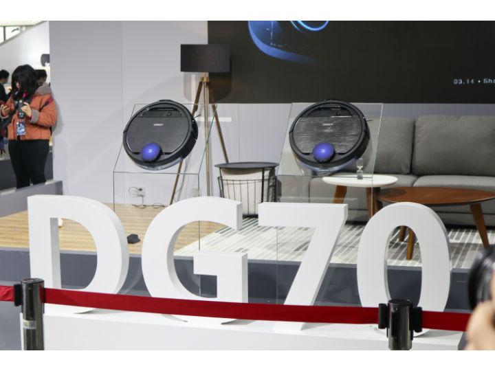 让人工智能更近一点,科沃斯扫地机器人带来旗舰新品DG70