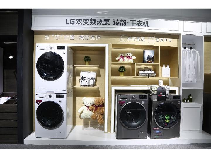 双变频热泵 — LG臻韵干衣机开启干衣新境界