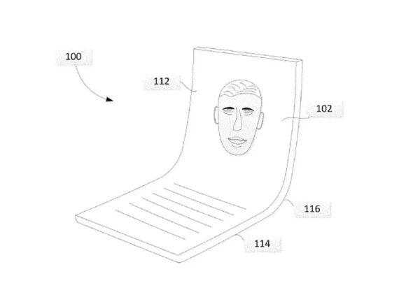 历来不生产硬件的谷歌 递交了一份折叠屏专利