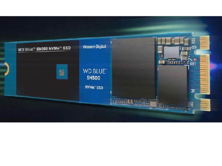 加速转型NVMe 西部数据推出WD Blue SN500 NVMe SSD