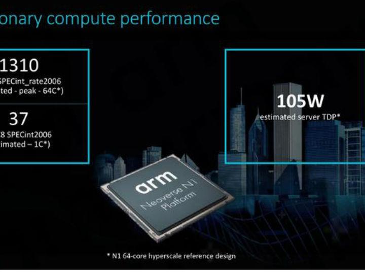 ARM公布Neoverse架构:将颠覆服务器市场