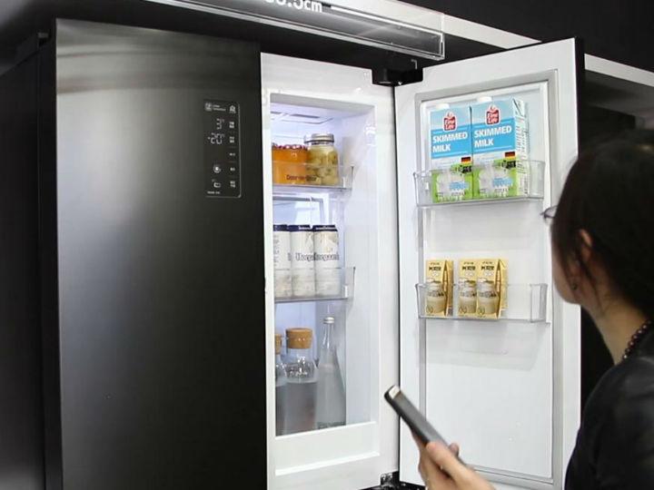 食材新鲜度流失快?LG双风系十字四门对开冰箱锁住食材营养