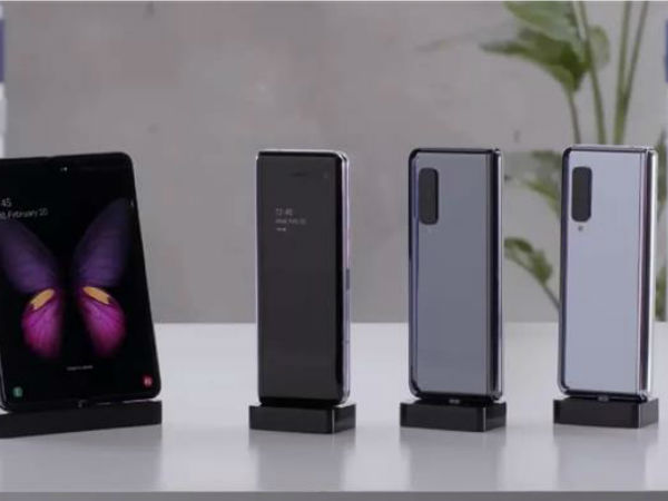 三星折叠屏手机Galaxy Fold上手视频终于曝光:折痕明显 下月发售