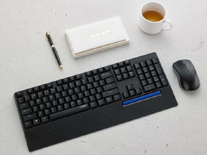 舒适新活力 雷柏X1800PLUS无线光学键鼠套装视频