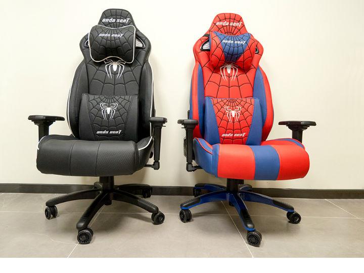 安德斯特蜘蛛侠电竞椅评测:全面升级带来极致体验