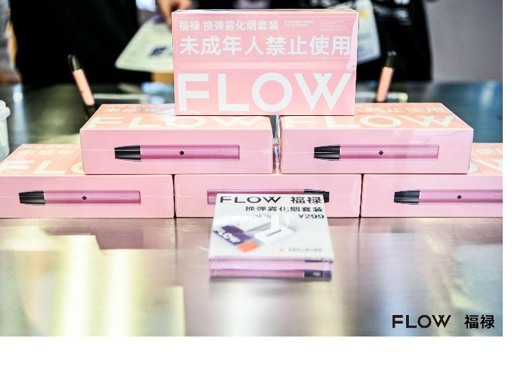 FLOW 福禄亮相深圳电子烟展,四款全新口味烟弹引爆现场