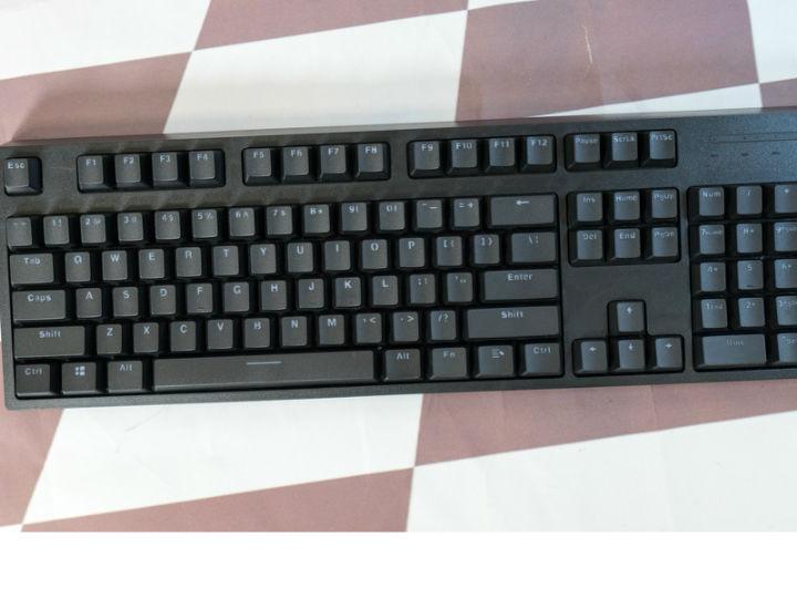 雷柏V808 RGB幻彩背光机械键盘视频评测