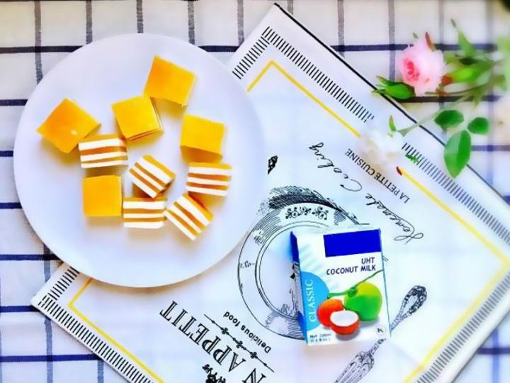 极客美食:改善记忆力―料理机版芒果椰汁千层糕