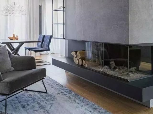 谁说混凝土只能打造冰冷的空间    搭配木质不是挺好的嘛!