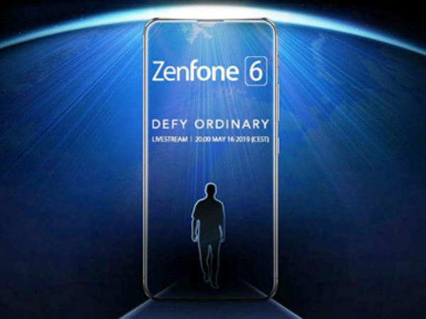 华硕ZenFone 6定档5月16日 真全面屏设计约4400元起