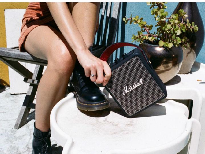 摇滚迷注意! 英国品牌Marshall推出两款便携式音箱新品