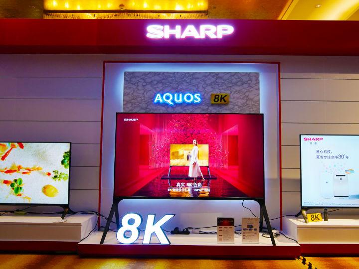 夏普A9系列8K电视亮相!不仅带来视觉盛宴,更要颠覆八大生活领域