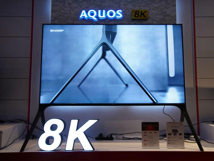 加速8K技术普及,夏普持续推动8K+5G产业链完善