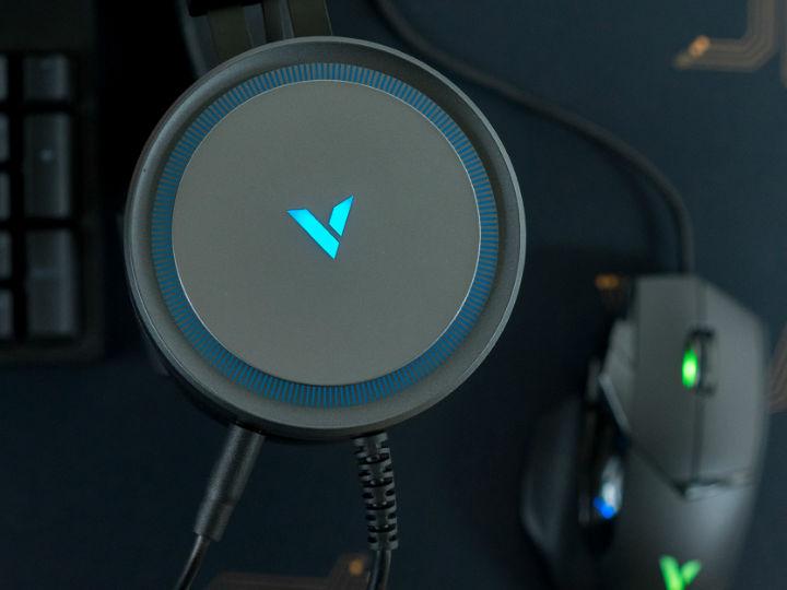 雷柏VH530虚拟7.1声道RGB游戏耳机评测