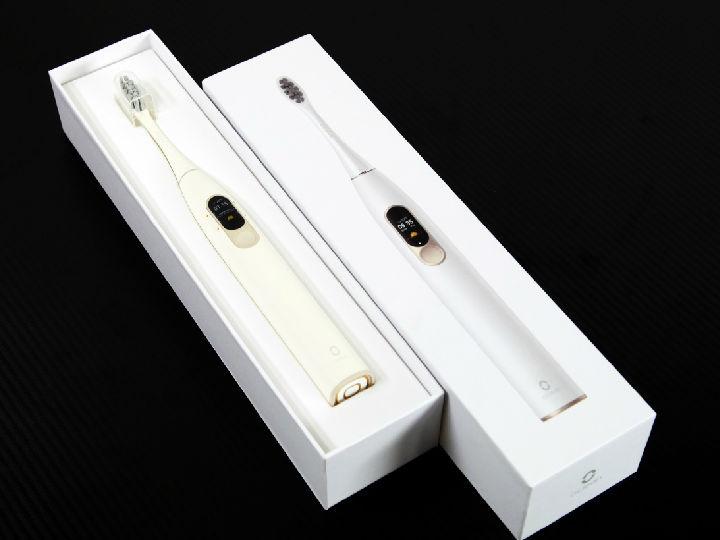 全球首款触控屏 革命性电动牙刷Oclean X试用