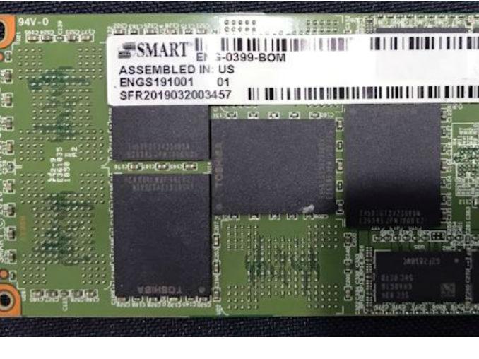 慧荣展示Agylstor M.4 NVMe固态硬盘原型