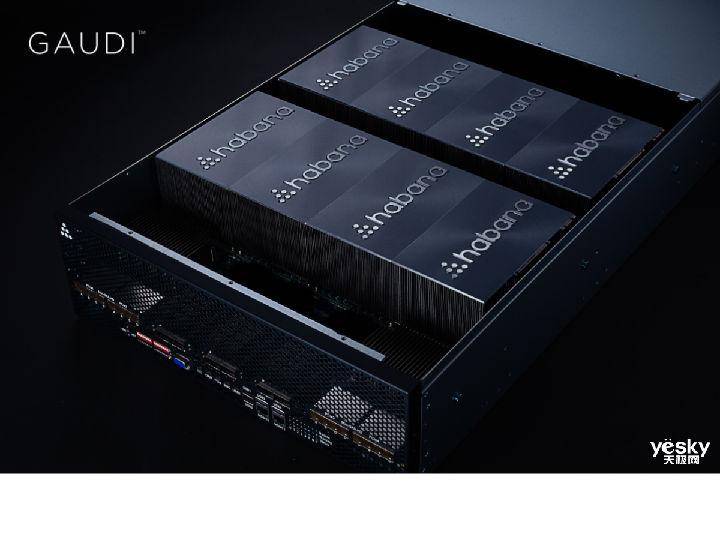 Habana推出训练处理器Gaudi 比相同数量GPU系统高4倍的处理能力