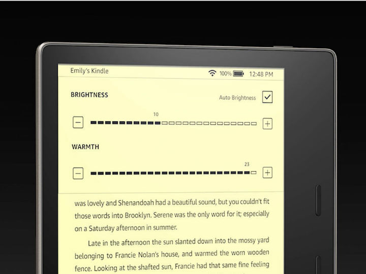 亚马逊第3代Kindle Oasis新增可调节色温灯