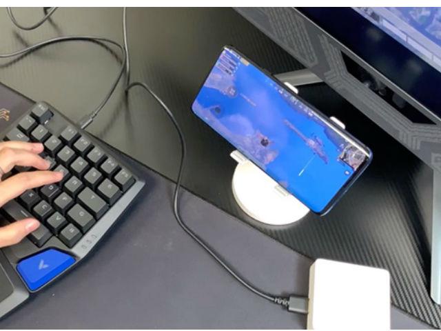 手机吃鸡不爽?来试试雷柏的键鼠转换黑科技!