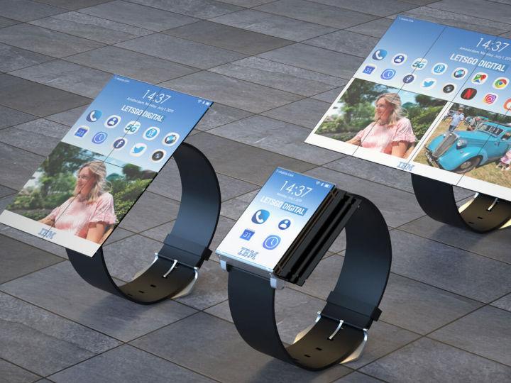 IBM折叠屏专利曝光 这设计够科幻