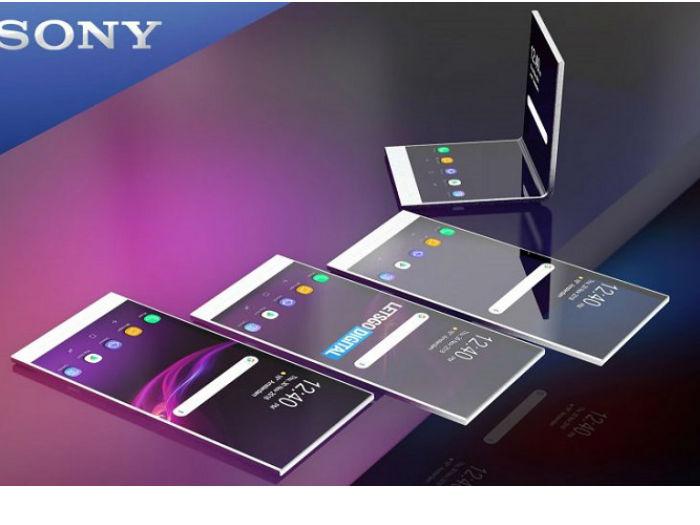 索尼折叠屏新专利曝光:柔性屏可集成多种传感器