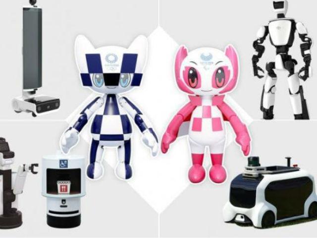 丰田发布2020东京奥运机器人全线阵容