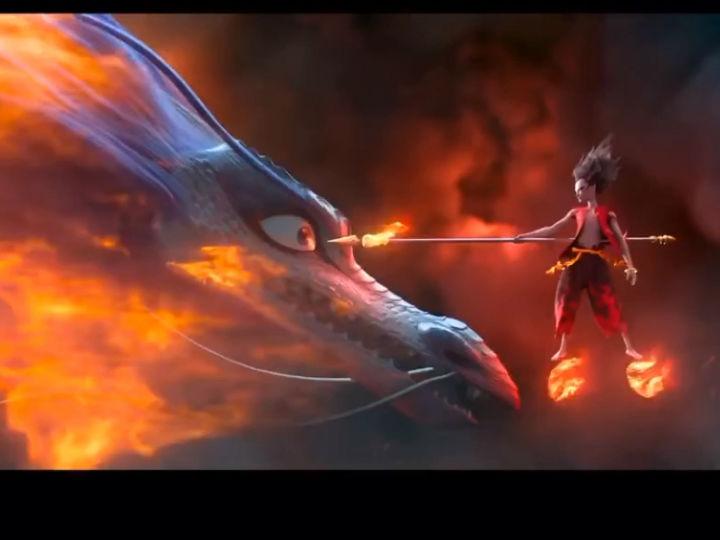 《哪吒之魔童降世》票房突破20亿元 登顶国内动画电影票房榜