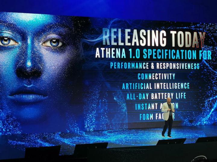英特尔推出雅典娜计划认证笔记本专属视觉标识