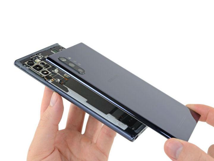 三星Note 10+ 5G拆解:想要�Q屏幕,太�y了!