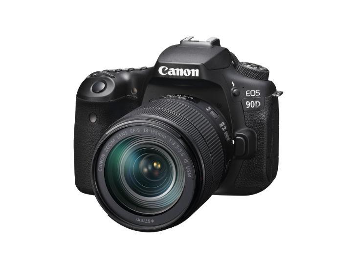 多方位提速,佳能发布数码单反相机新品EOS 90D