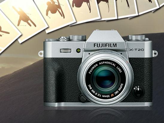 怀旧复古造型 富士X-T20相机推荐