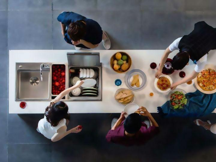 洗碗机按安装方式分为三类!哪种更适合家用?