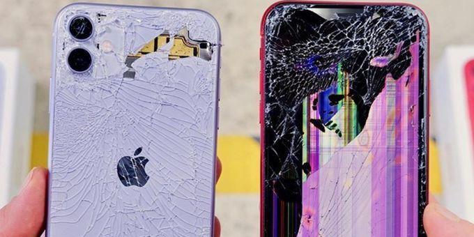 画面惨烈!iPhone 11集体首碎:维修成本堪比换新机