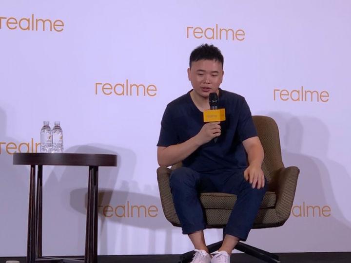 realme产品总监王伟:旗舰产品很快到来