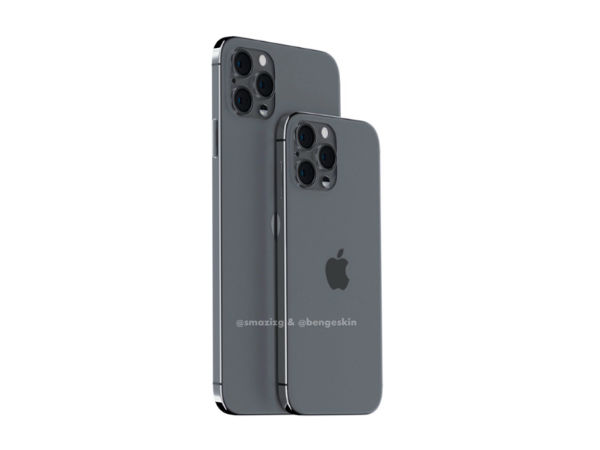iPhone 12 Pro渲染图首曝:干掉刘海、外观回归iPhone 4