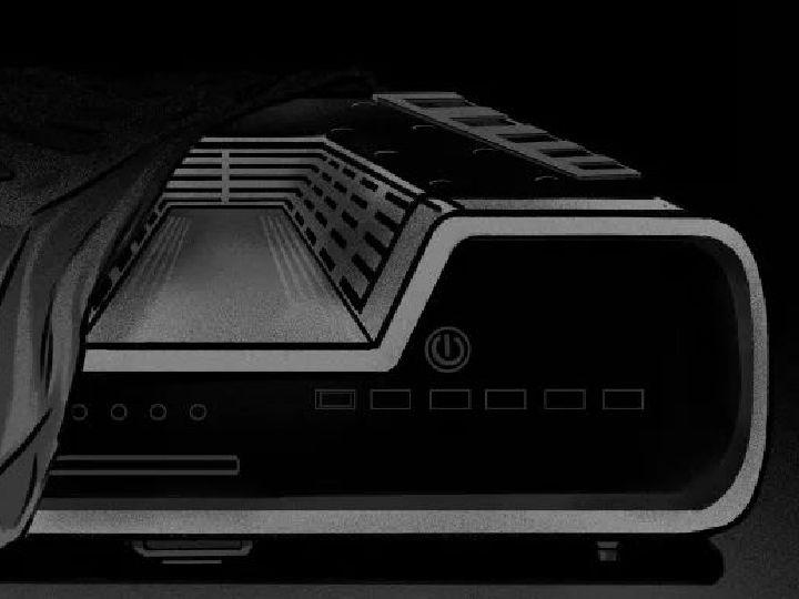 PlayStation 5外观确认?相当科幻