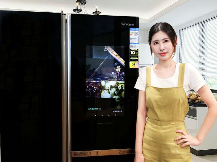 智能冰箱��N房更多彩 ���S冰箱BCD-536WGPi�u�y