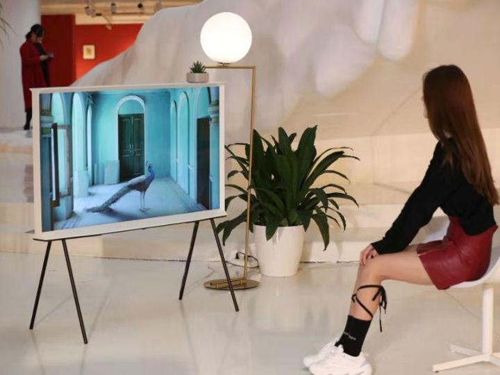 跨越时空的艺术对话,三星The Serif画境系列电视开启国内首秀