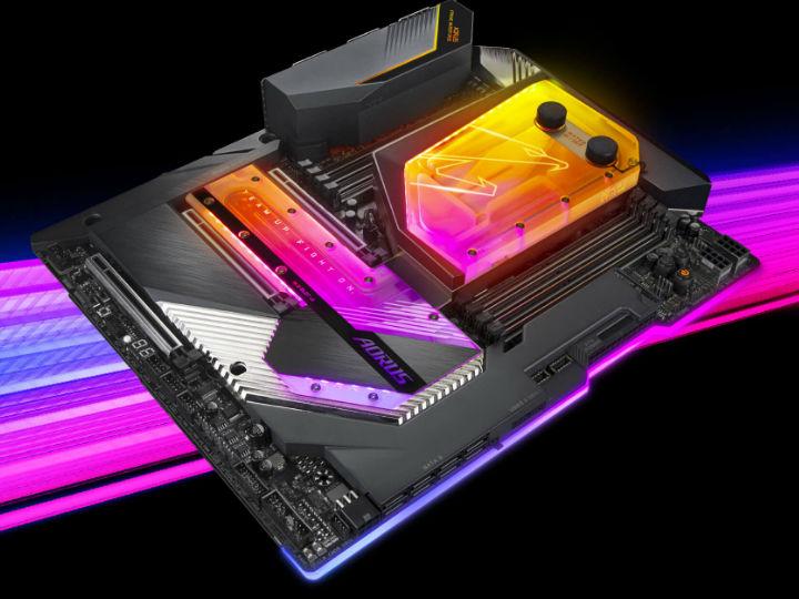 AORUS�l布新款X299X系列水冷主板 支持雷�3及�f兆�W�j