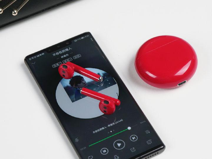 华为FreeBuds 3蜜语红体验评测:半开放式主动降噪爱了