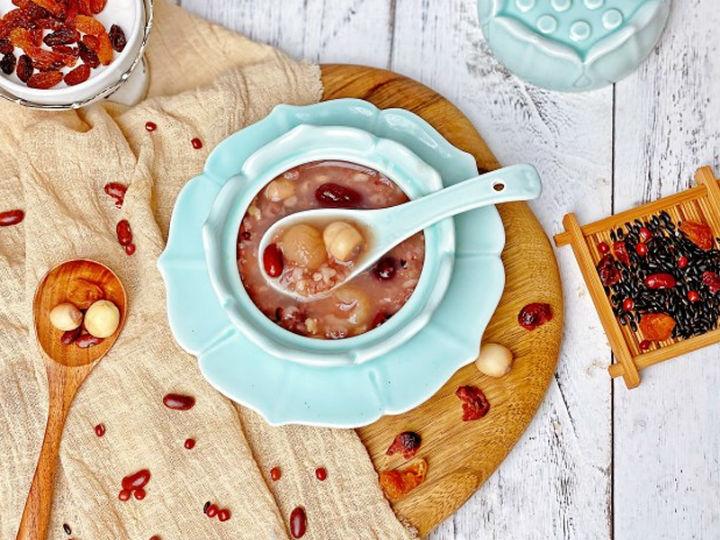 极客美食:口感绵密―电饭煲版腊八粥