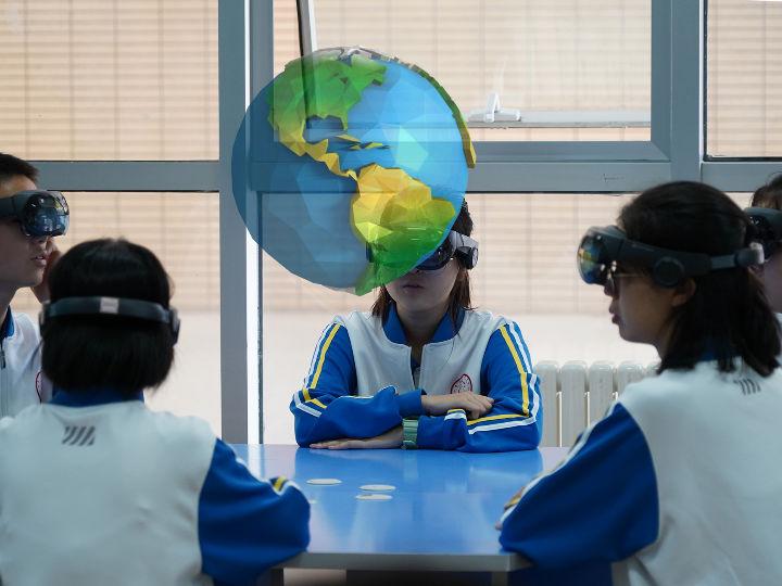 影创科技在MR教育领域发展态势迅猛