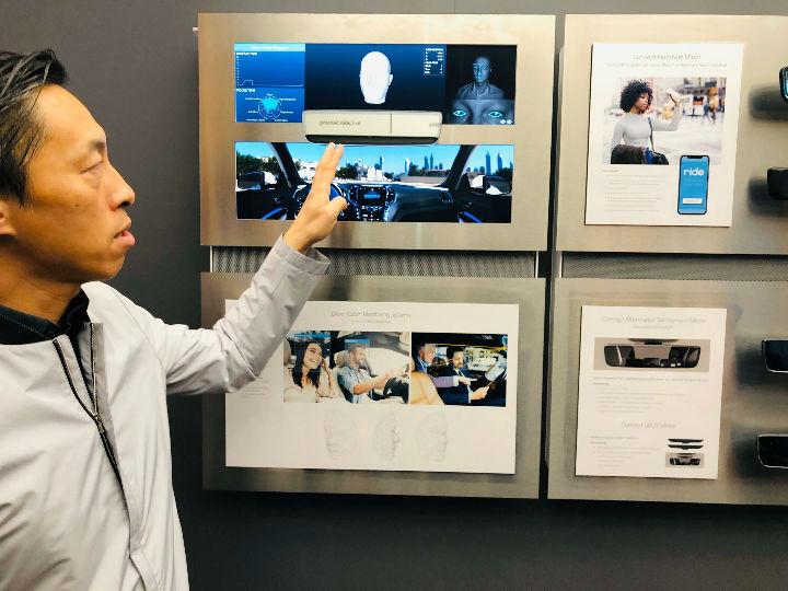 CES2020 镜泰(GENTEX)展示旗下新兴科技