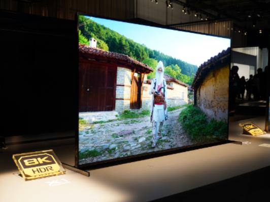 CES2020丨索尼8K电视Z8H、OLED电视A8H现场体验